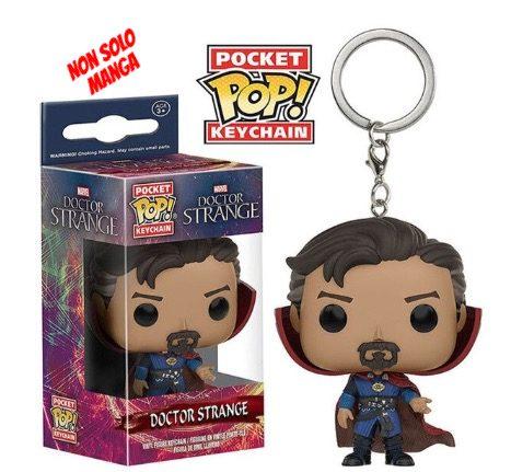 Funko Pop portachiavi Marvel Doctor Strange.