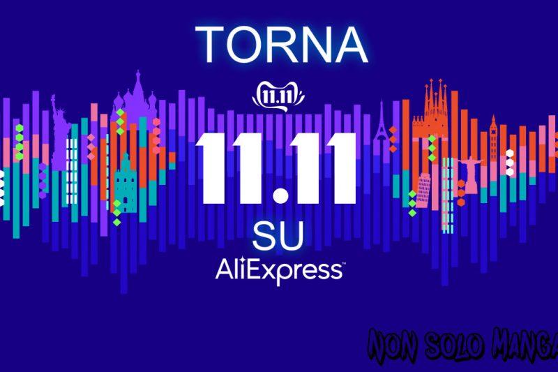 Torna l'11.11 su AliExpress (mega saldi)