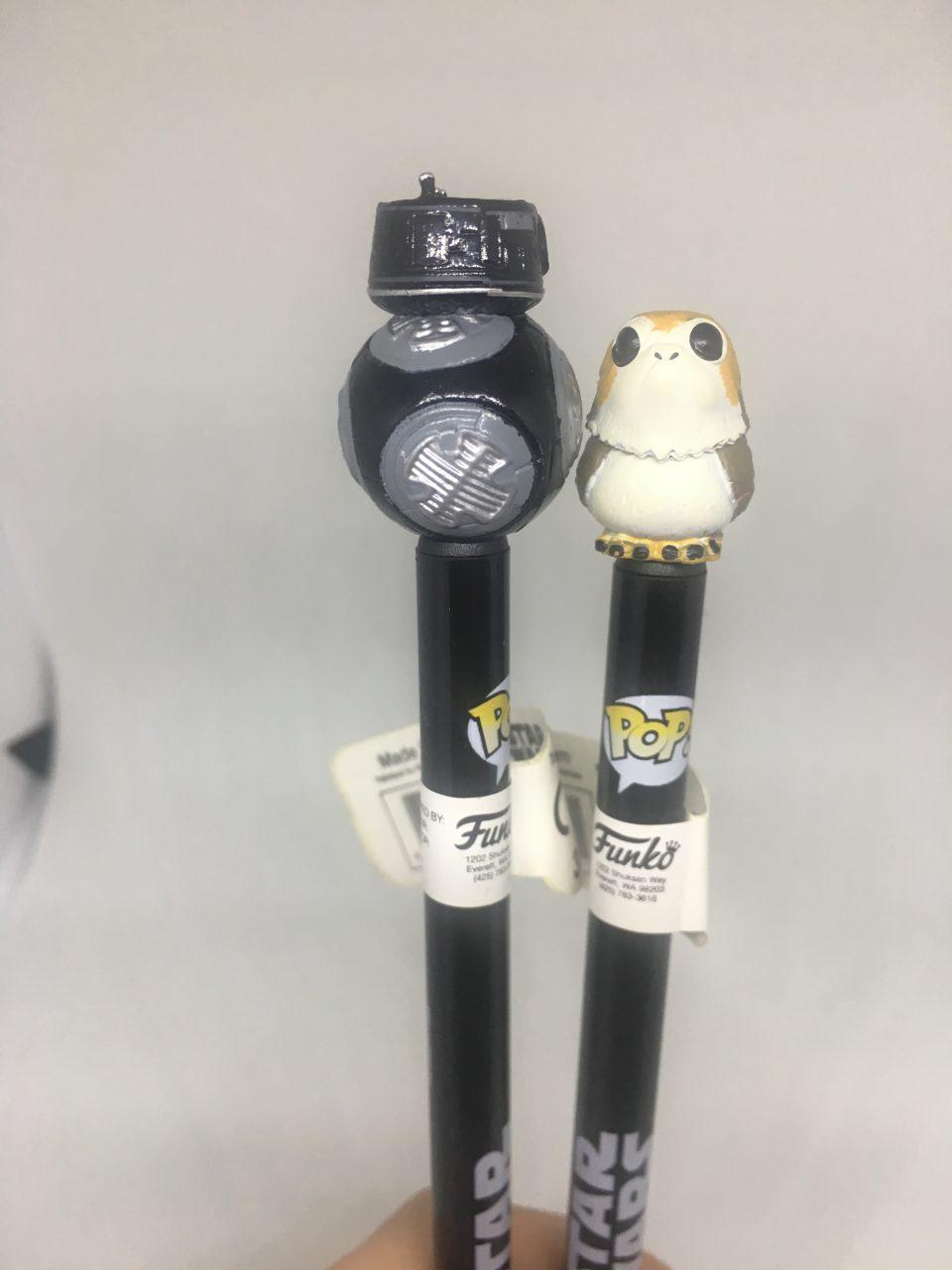 Funko Pop a penna di Star Wars.