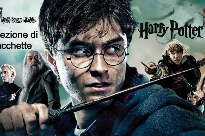 Collezione bacchette della saga Harry Potter