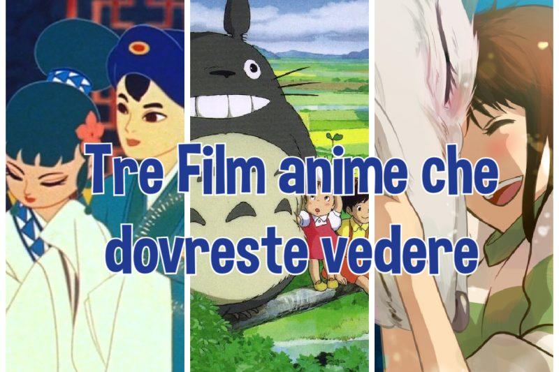 Tre Film anime che dovreste vedere (ottobre)