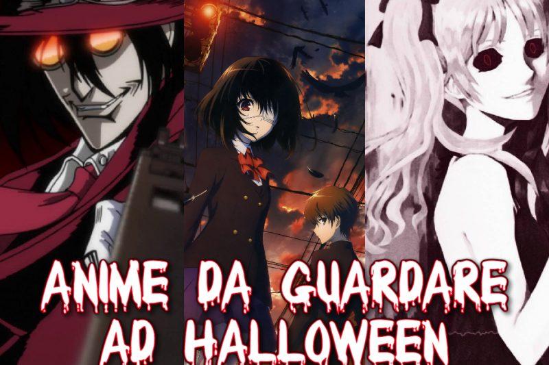Tre serie Anime da vedere nel Periodo di Halloween