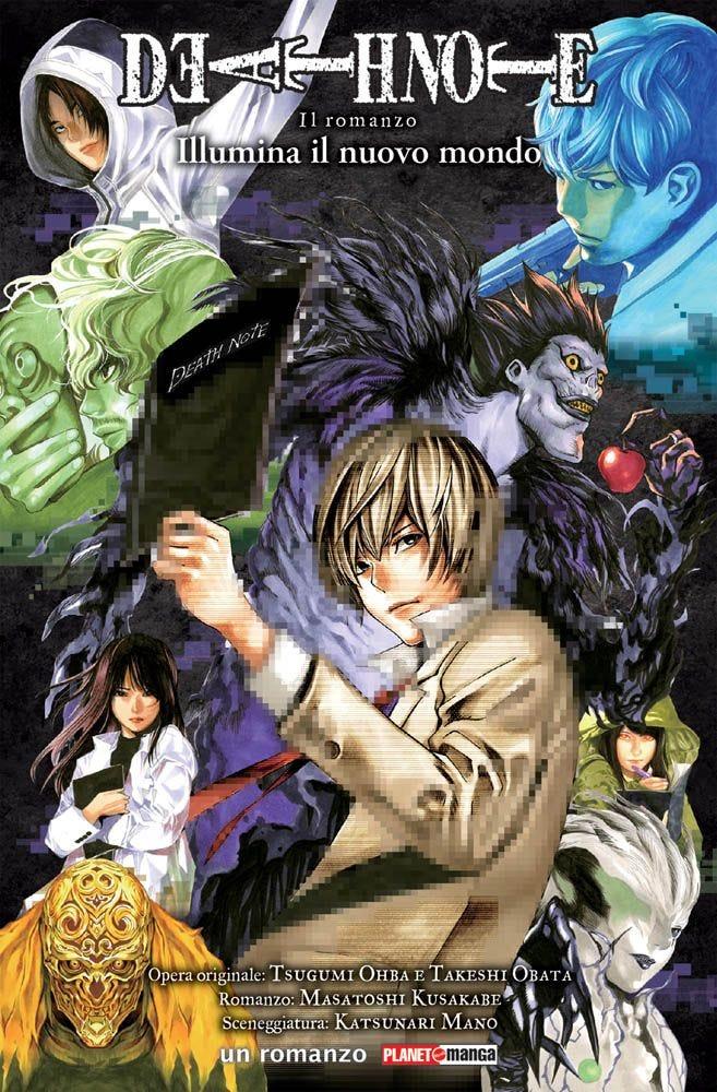 Death Note illumina il nuovo mondo il Romanzo.