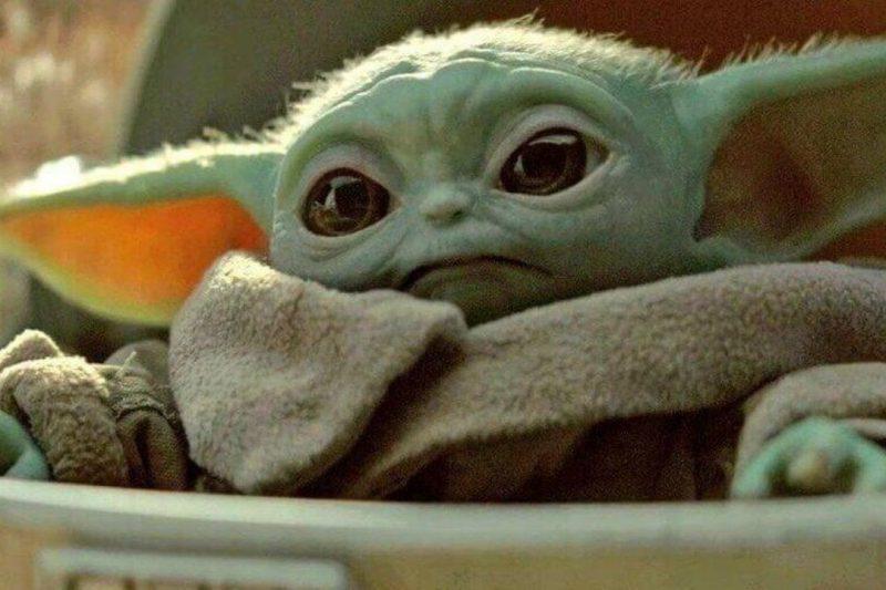 Baby Yoda (Grogu) Figure