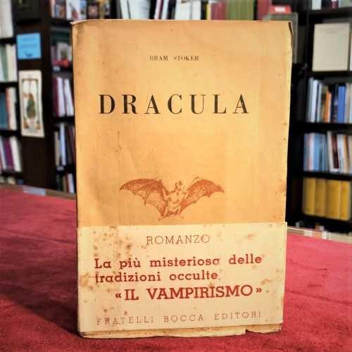 Dracula di Bram Stoker libro, prima edizione - Vampiro