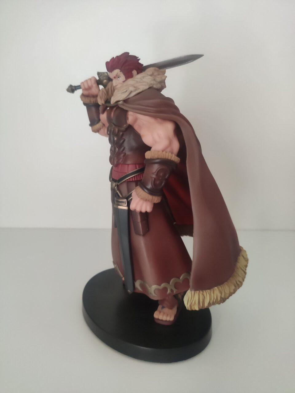 Fate Zero Rider (Iskandar) Action Figure della Banpresto.