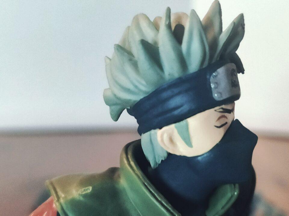 Action Figure di Kakashi (Naruto)