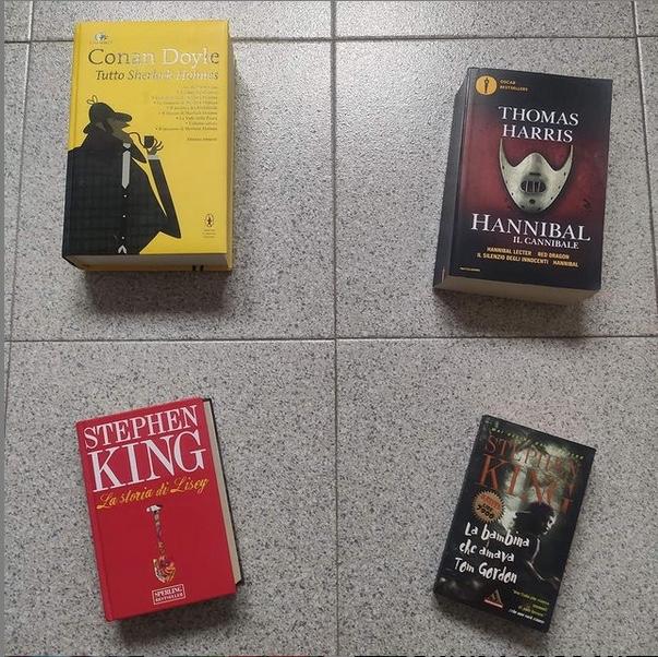 Tre libri da leggere sotto l'ombrellone -Hannibal il cannibale (raccolta di quattro romanzi) di Thomas A. Harris